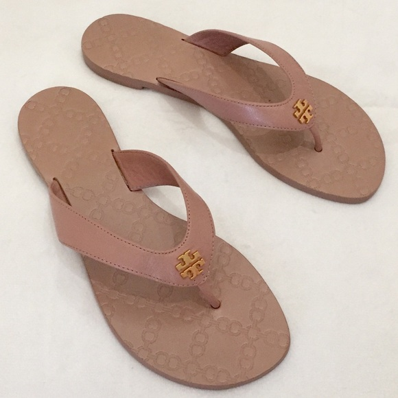 3f5c8cf2239 Tory Burch Monroe Leather Sandals. M 5af322659d20f01d6dea9c3a